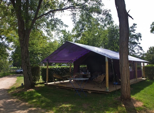 Freeflower camping val de loire